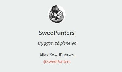 #SwedPunters/NFL